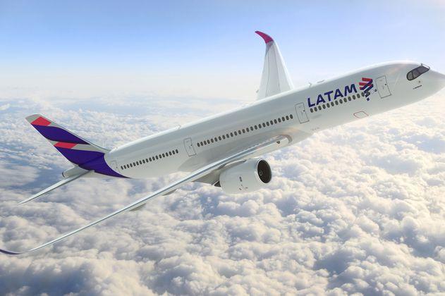 Latam Airlines llegó al 13,9 % de su capacidad operacional en agosto