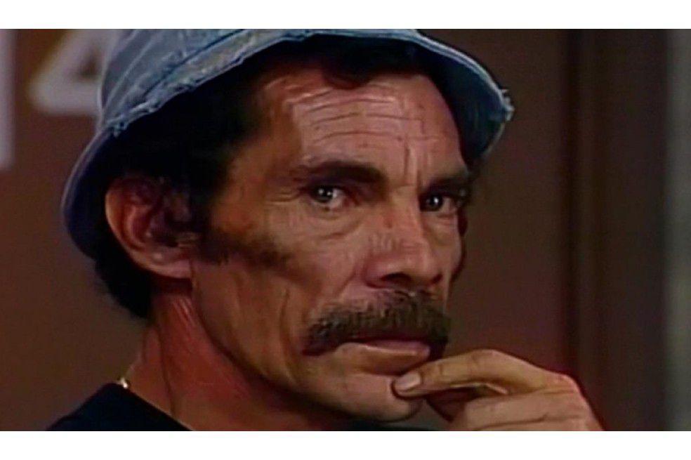 Don Ramón era interpretado por Ramón Valdés-