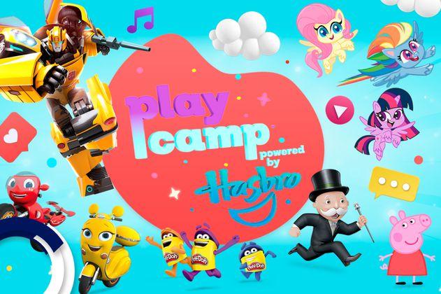 PlayCamp powered by Hasbro: el campamento virtual para niños