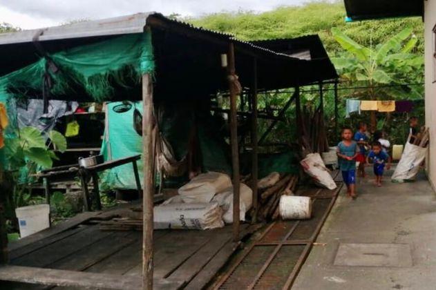 Indígenas wounaan desplazados en Buenaventura piden ayuda para enfrentar el hambre