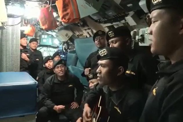 """""""Sampai Jumpa"""", la canción que cantaron las víctimas del Submarino de Indonesia"""