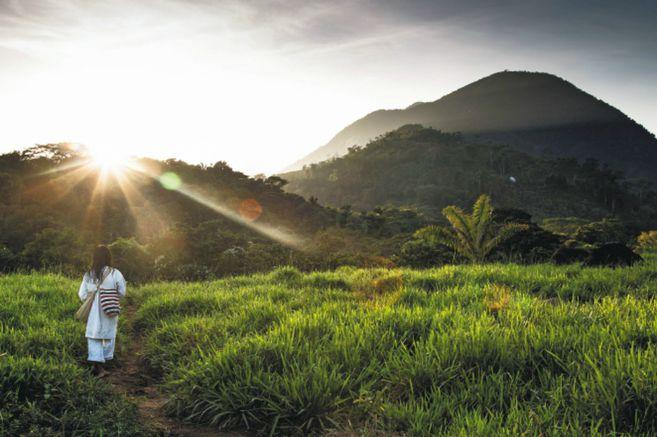 La Sierra Nevada de Santa Marta es la montaña costera más alta del mundo.