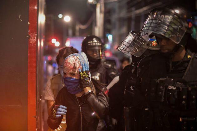 En las principales ciudades del país hubo disturbios en la noche de Halloween