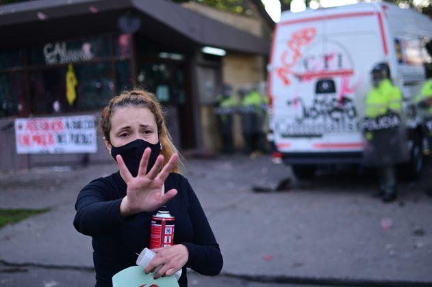 Hay al menos cuatro personas desaparecidas desde las protestas del 9 de septiembre en Bogotá