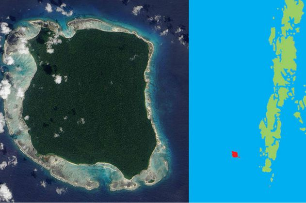 North Sentinel, la impenetrable isla cuyos habitantes aún viven en la edad de piedra