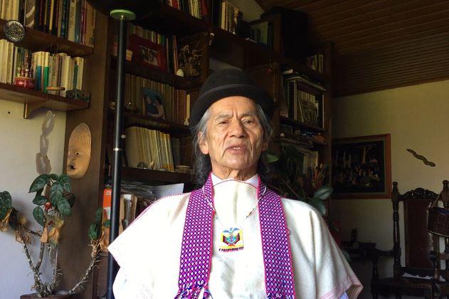 """Lorenzo Muelas: """"Uno no puede esperar que alguien que no sea indígena haga algo por nosotros"""""""
