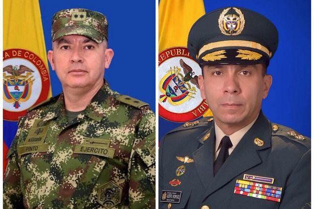 JEP: generales Marcos Pinto y Edgar Rodríguez deberán dar su versión por falsos positivos