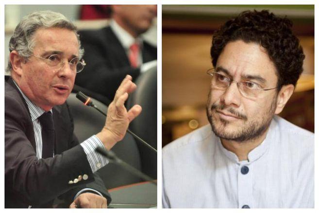 """Iván Cepeda denunciará a Uribe por señalarlo de ser el """"senador de ..."""