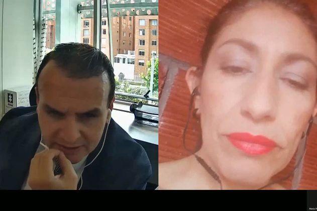 """""""En ningún momento me dijeron 'diga esto'"""": alias """"Diana"""", testigo en favor de Uribe"""