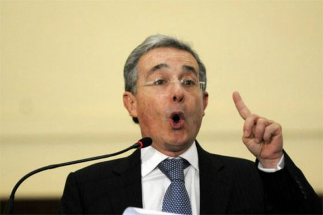 """La paz está herida"": Álvaro Uribe Vélez"