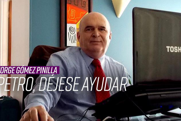 Jorge Gómez Pinilla: Petro teniendo el mejor programa para presidencia, no se ayuda