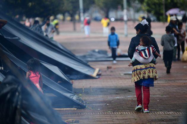 Pese a la cuarentena aumentaron las víctimas del desplazamiento en Bogotá