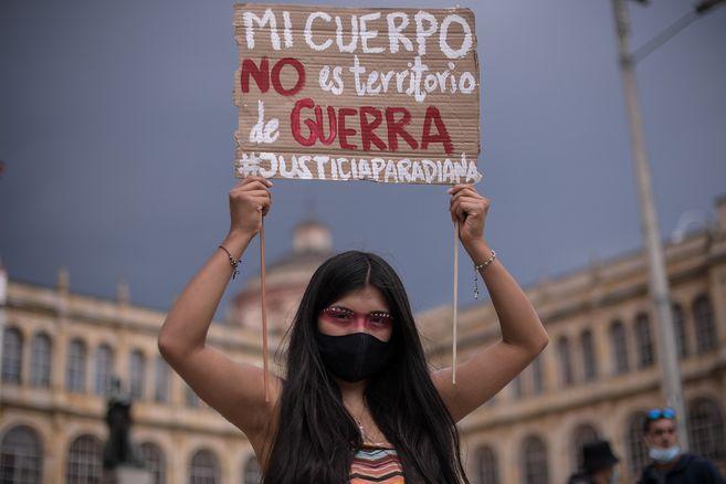 Defensores de derechos humanos han alertado sobre la violencia sexual en el paro nacional.