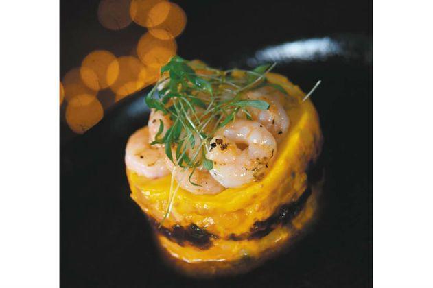 Receta para preparar causa de camarones