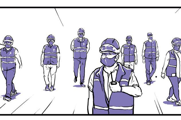 Cómic: Los guardianes de la reconciliación en Cali que fueron enemigos en la guerra