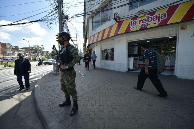 """En Bogotá es """"innecesaria"""" la militarización"""