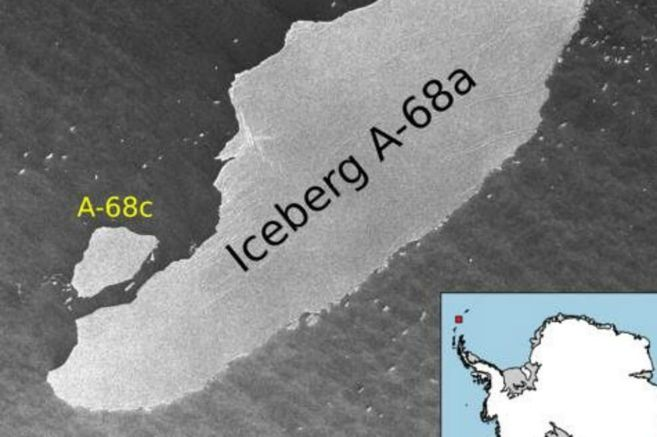 El iceberg más grande del mundo se fragmenta