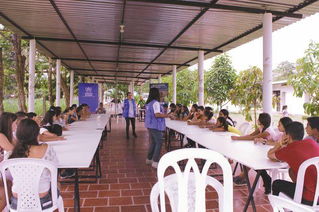 Un proyecto para proteger a niños, niñas y jóvenes del conflicto en Arauca