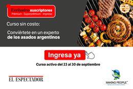 Curso: Vuélvete un experto en asados argentinos