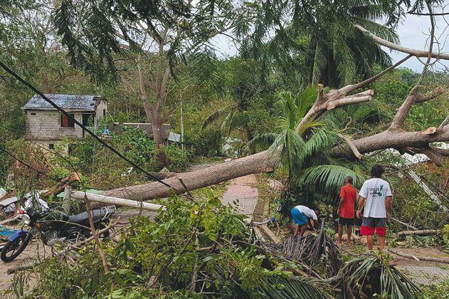 San Andrés y Providencia después del huracán