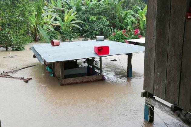 Comunidades indígenas de Putumayo piden ayuda inmediata tras inundaciones