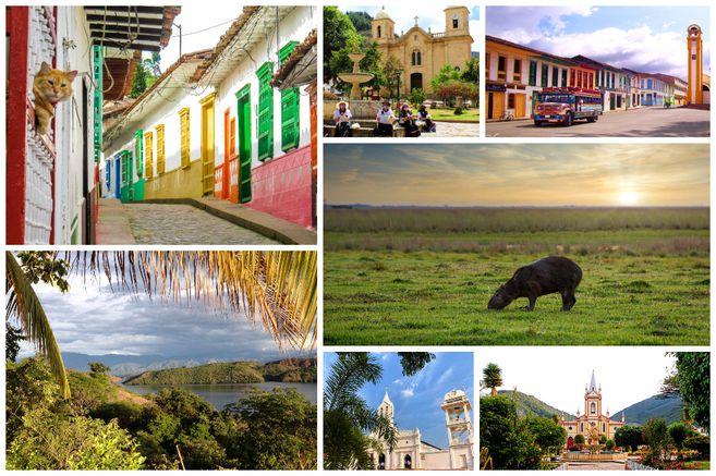 Siete pueblos en Colombia ideales para visitar en la nueva realidad.