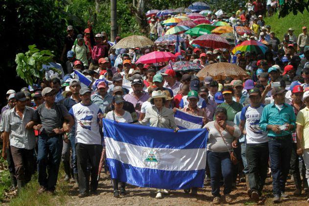 Amnistía Internacional acusa a policía de Nicaragua de violar derecho de manifestar