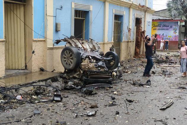 Violencia en Cauca: un carro-bomba deja 17 heridos en Caloto
