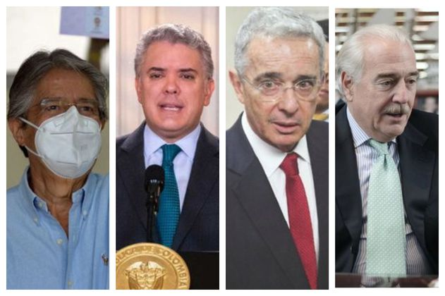 Duque, Uribe y Pastrana felicitaron al derechista Guillermo Lasso por su victoria en Ecuador