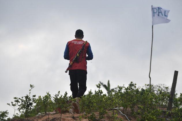 En imágenes: campesinos del Catatumbo exigen que saquen la guerra de su territorio