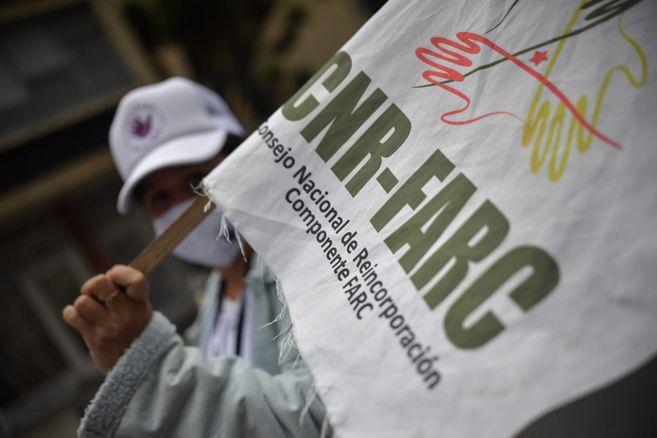 Los excombatientes estarán en la capital del país hasta el próximo jueves, 5 de noviembre.