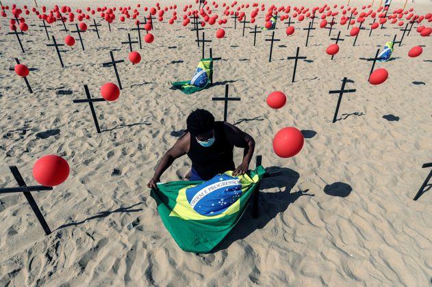 Brasil registra la primera muerte a causa de la variante Delta del coronavirus