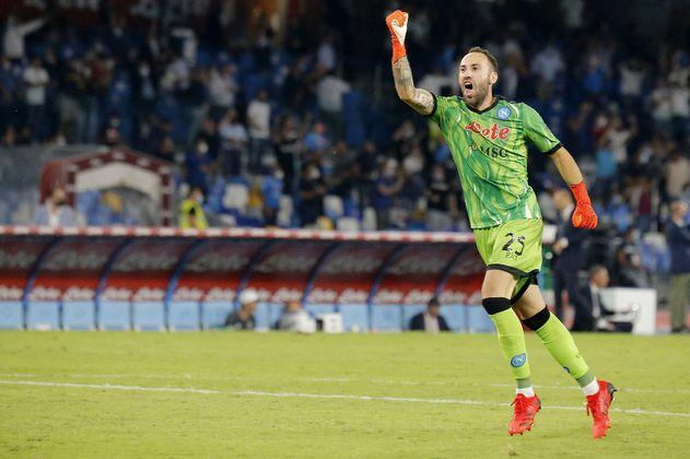 Otra noche sólida de Ospina con el Napoli en la goleada al Udinese