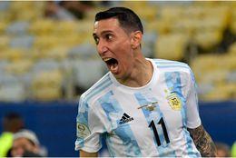 Ángel Di María y sus goles históricos con Argentina