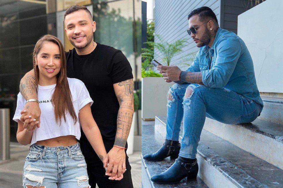 Paola Jara respondió qué opina de las pintas que utiliza su novio Jessi Uribe