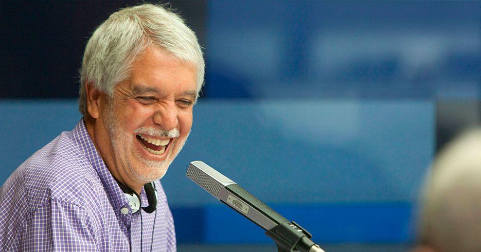 Con seriedad y una que otra risa, Peñalosa habló en Blu Radio