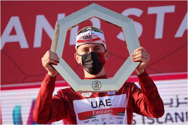 Tadej Pogacar ganó el UAE Tour con discreta presentación colombiana