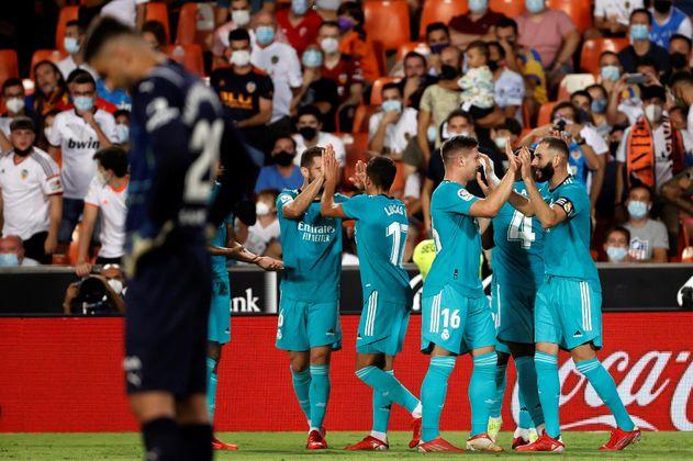 LaLiga: Real Madrid, nuevo líder, remontó y venció a Valencia