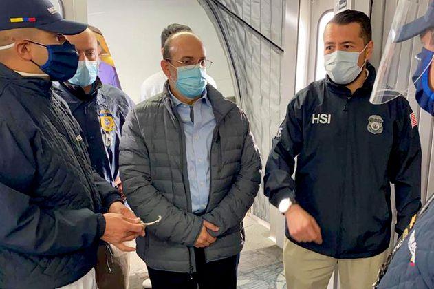 El exjefe paramilitar Jorge 40 regresó a Colombia