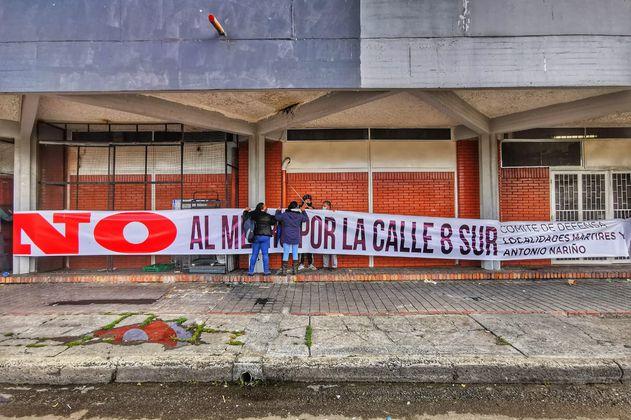 Vecinos del metro de Bogotá dicen que primera línea es mal negocio para ellos