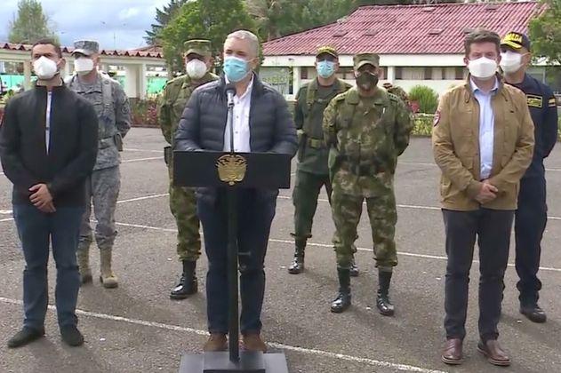 Duque ordena despliegue militar en Popayán para levantar bloqueos