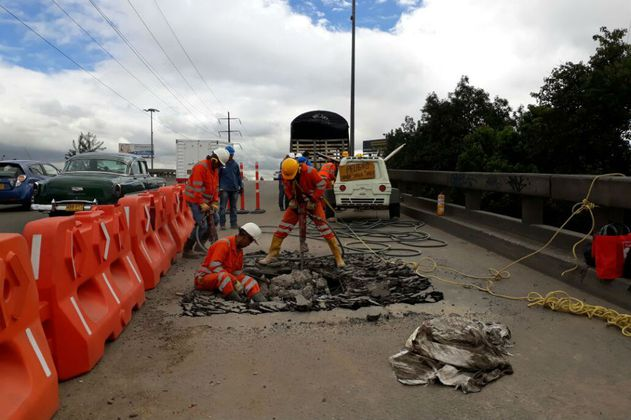 Distrito realizará mantenimiento a 12 puentes vehiculares de Bogotá