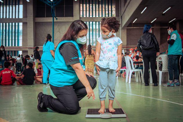 El 7% de los menores de seis años sufren de desnutrición crónica en Medellín