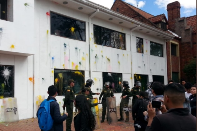 Se registra nuevo ataque a las instalaciones de RCN Radio en Bogotá