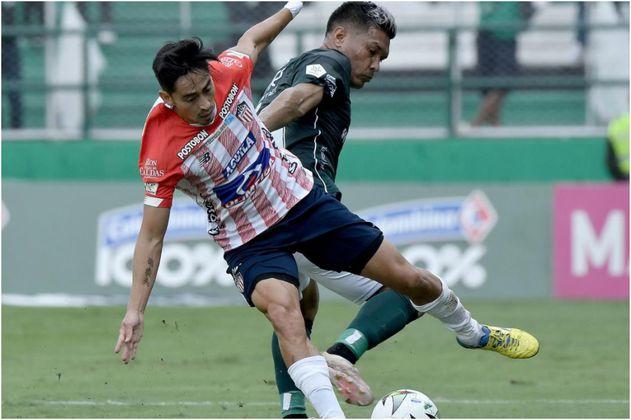Discreto empate entre Cali y Júnior, por la Liga BetPlay