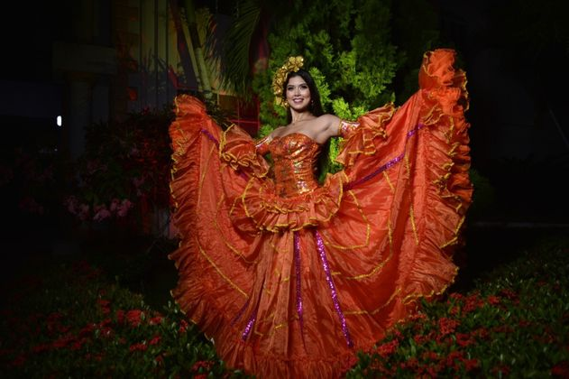 Valeria Charris fue elegida como la reina del Carnaval de Barranquilla 2022