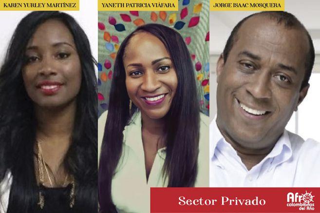 Nominados Afrocolombianos del año