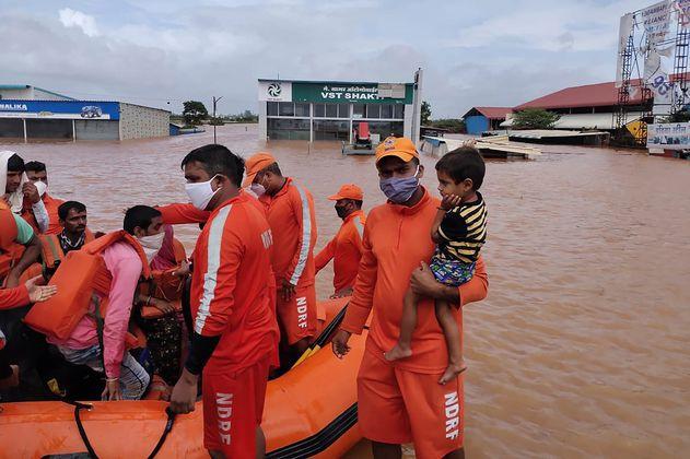 Se eleva a 251 el número de muertos por las fuertes lluvias en India