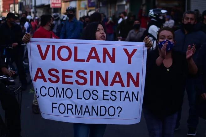 Jornada de protesta en Bogotá luego que el abogado Javier Ordóñez muriera bajo custodia policial. /Cristian Garavito