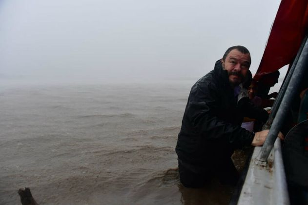 Misión de la Defensoría del Pueblo, encallada en mitad del río Meta